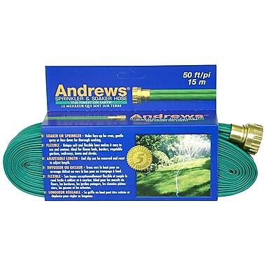 Andrews 10-12348 Sprinkler & Soaker Hose, 50'