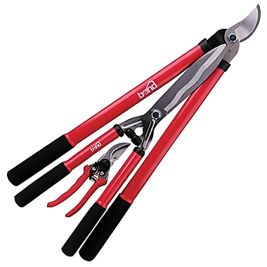 Bond 5945 Pruning 3 Count Lopper, Hedge Shears and Pruner Set