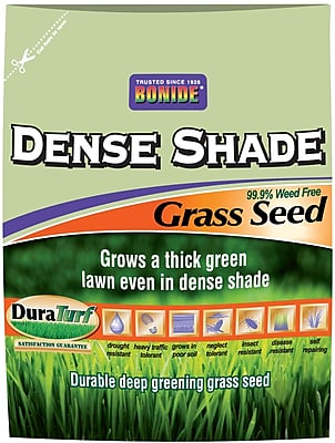 Bonide 60217 Dense Shade Grass Seed, 20 lbs.