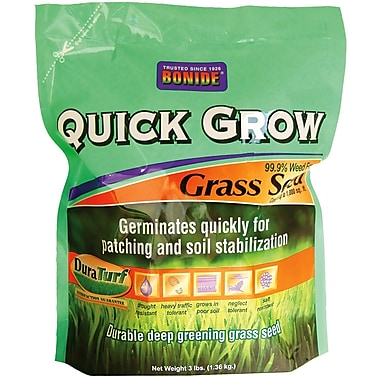 Bonide 60261 Quick Grow Grass Seed, 3 lbs.