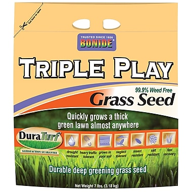 Bonide 60274 7 lbs.Triple Play Grass Seed