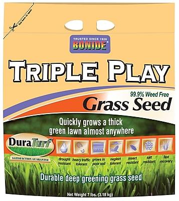 Bonide 60274 7 lbs.Triple Play Grass Seed