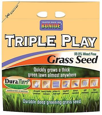 Bonide 60277 20 lbs.Triple Play Grass Seed