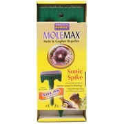 Bonide 61119 Solar Powered Molemax Sonic Spike Mole Repellent Stake