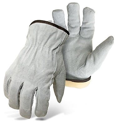 Boss 7179L Gray Leather, Large