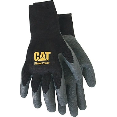 Cat Gloves CAT017410M Black Poly/Cotton, Medium