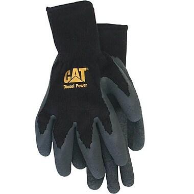 Cat Gloves CAT017400L Black Poly/Cotton, Large