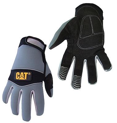Cat Gloves CAT012213L Gray Neoprene, Large
