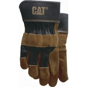 Cat Gloves CAT013200L Brown Leather, Large
