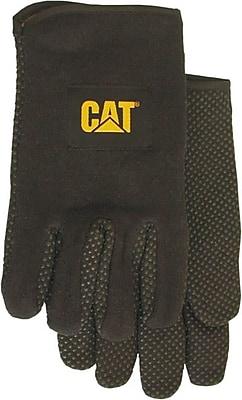 Cat Gloves CAT015300L Black Jersey, Large