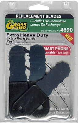 Grass Gator 4690-6 Replacement Blades, 3 Pack