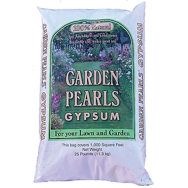 Garden Pearls 10799 Organic Garden Pearls Gypsum, 25 lbs.