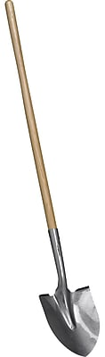 Corona SS10000 16 Gauge Tempered Steel Round Point Shovel with 48