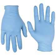 Custom Leathercraft 2320L Nitrile Disposable Gloves, Large