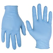 Custom Leathercraft 2320M Nitrile Disposable Gloves, Medium