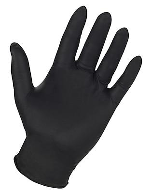 Custom Leathercraft 2337X Powder Free Nitrile Disposable Gloves, XL