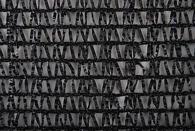 Dewitt K6 6' x 100' Knitted Shade Fabric Roll, Black