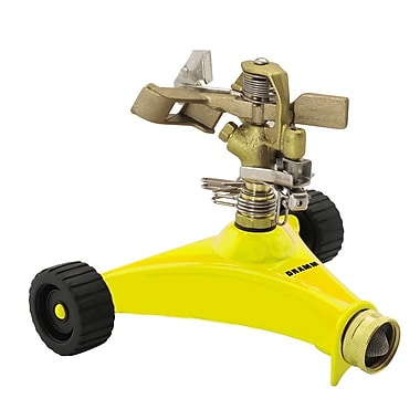 Dramm 10-15033 Impulse Sprinkler, Yellow