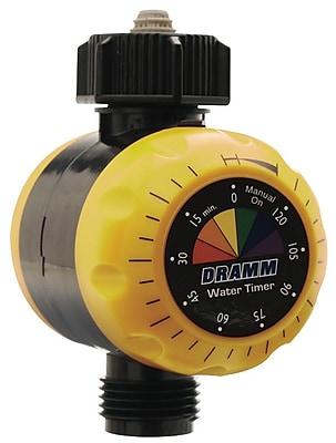 Dramm 10-15043 Premium Water Timer, Yellow