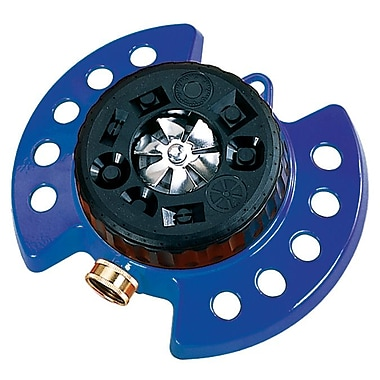Dramm Corporation 15025 ColorStorm Nine Pattern Turret Sprinkler, Blue