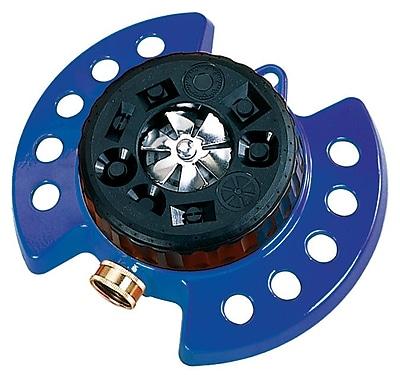 Dramm Corporation 15025 ColorStorm Nine Pattern Turret Sprinkler, Blue