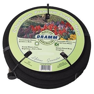 Dramm 10-17010 Soaker Garden Hose, 50'