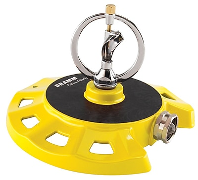 Dramm Corporation 10-15071 ColorStorm Spinning Sprinkler, Yellow