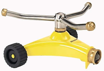 Dramm Corporation 15053 ColorStorm Premium Three Arm Whirling Sprinkler, Yellow