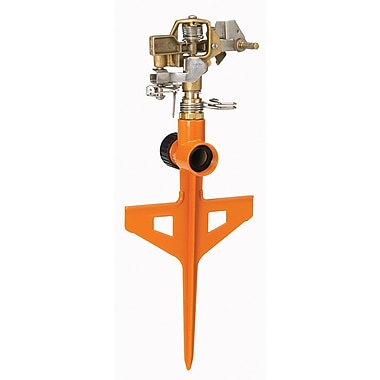 Dramm Corporation 10-15062 ColorStorm Stake Impulse Sprinkler, Orange