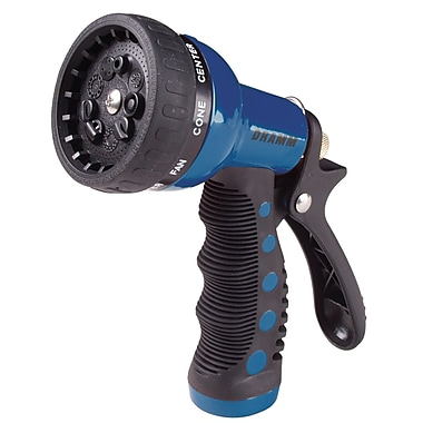 Dramm 80-12705 9 Pattern Revolver Spray Gun Nozzle, Blue