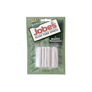 Jobes 5001T Granular Houseplant Indoor Fertilizer Food Spikes, 50 Pack