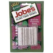 Jobes 5201T Granular Flowering Plant Indoor Fertilizer Food Spikes, 50 Pack