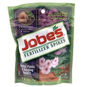 Jobes 6105 Granular Potted Plant and Hanging Basket Fertilizer Spikes