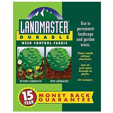 Easy Gardener 301051 3' x 100' Landmaster 15-Year Durable Weed Control Fabric