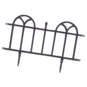 "Easy Gardener 8840 24"" Forged Iron Decorative Border"