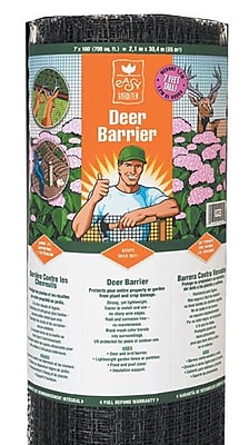 Easy Gardener/Weedblock LG40017110MG Deer Barrier, 7' x 100'
