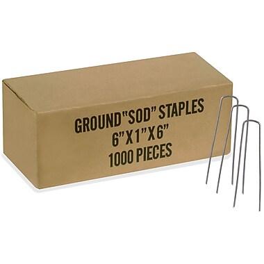 Easy Gardener 817 Commercial Fabric Staples, 1000 Count
