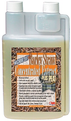 Microbe Lift/Ecological Labs BSEP32 Concentrated Barley Straw Extract Plus Peat, 32 oz.