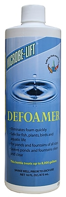Microbe Lift/Ecological Labs DFOAM16 Defoamer, 16 oz.