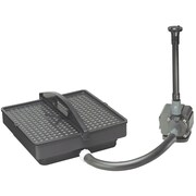 Danner/Pondmaster 02217 700 GPH Pond Pump with Filter and Fountain Set