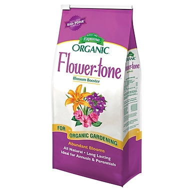 Espoma FT4 Organic Flower Tone Plant Food, 4 lbs.