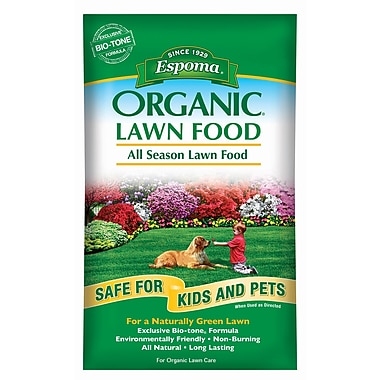 Espoma EOLF14 Organic All Season Lawn Food Bag, 14 lbs.