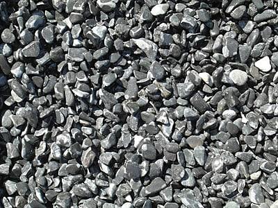 Exotic Pebbles & Aggregates BPBS-460 5 lbs. Bean Pebbles, Black