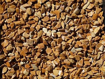 Exotic Pebbles & Aggregates BPWS-468 5 lbs. Bean Pebbles, Wood