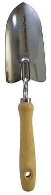 Flexrake LRB29B Wide Hand Trowel with Wooden Handle