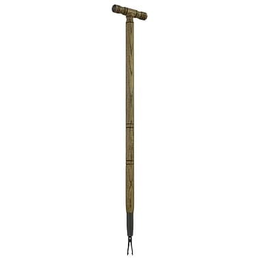 Flexrake CLA-109 Classic Weed Digger with Wooden T Handle