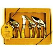 Flexrake CLA108 Ergonomic Pruner Gift Set, 4 Piece