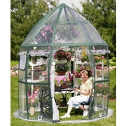 Flowerhouse FHCV900 10'dia x 10'H Conservatory Portable Greenhouse