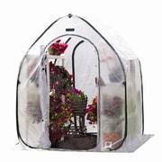 Flowerhouse FHPH155 5'H x 5'W x 6.5'D Plant House