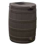 Good Ideas RW50-OAK 50 gal. Rain Barrel, Oak